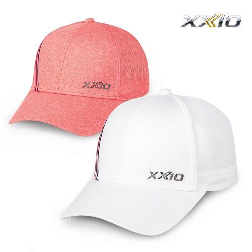 젝시오 여성용 3선 메시 캡_GAH-19069i_모자 골프모자 골프용품 필드용품 WOMENS 3 STRIPE MESH CAP