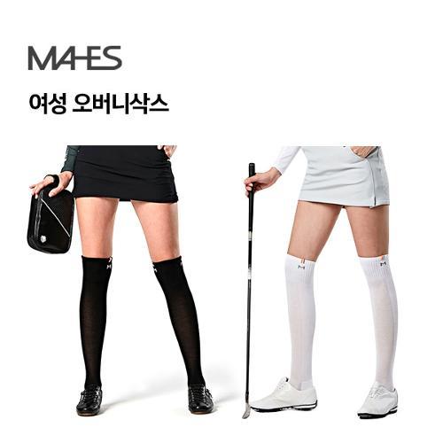 [마헤스] MAHES 여성 오버니삭스 골프양말 필드용품