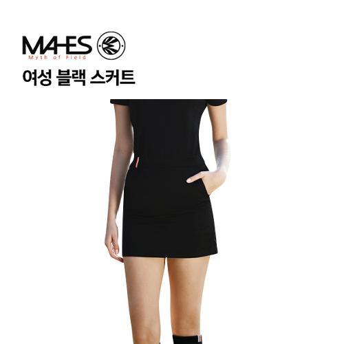 [마헤스] 여성 블랙 스커트 GKW9075 골프패션