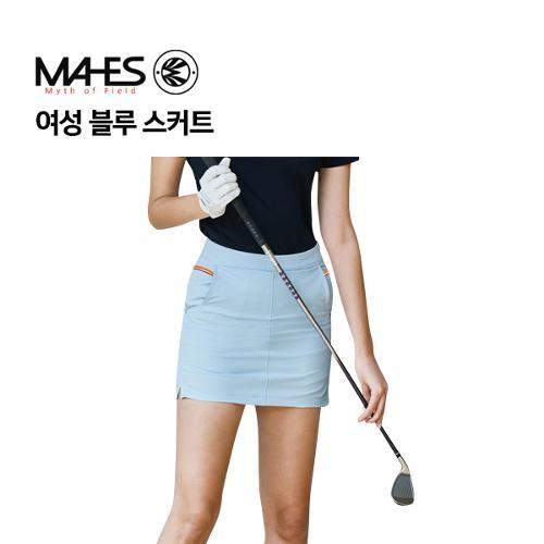 [마헤스] 여성 블루 스커트 GKW9074 골프패션