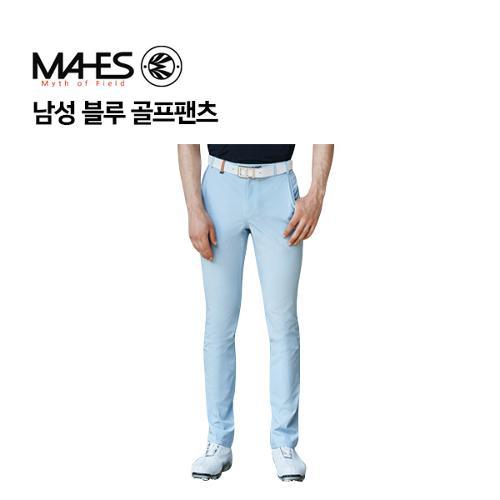 [마헤스] 남성 블루 골프팬츠 GPM7027 골프패션