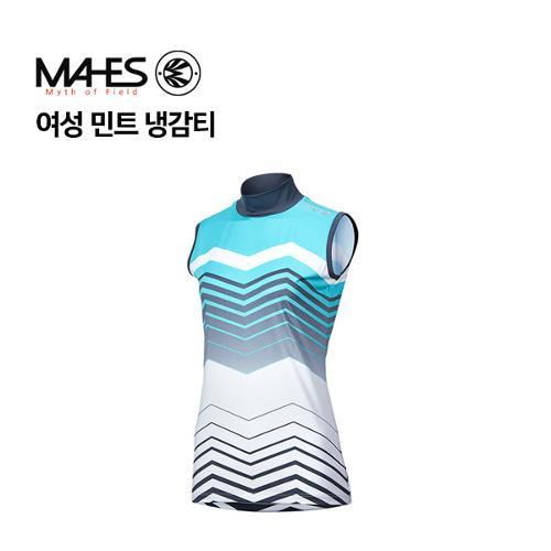 [마헤스] 여성 민트 냉감티 GP80214 골프패션