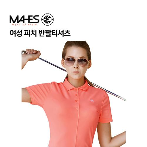 [마헤스] 여성 피치 반팔티셔츠 GS60282 골프패션