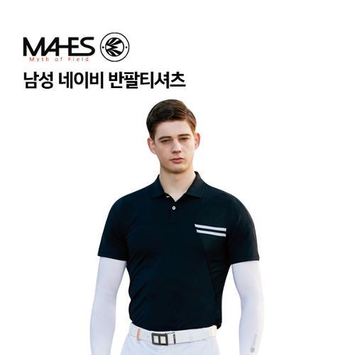 [마헤스] 남성 네이비 반팔티셔츠 GS50297 골프패션