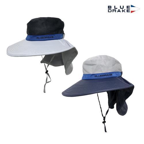 블루 드레이크 남성 뒷목 벙거지모자 (DL1GMCA04)