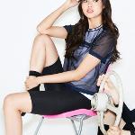 [르꼬끄골프] [20SS 신상]여성 레이어드 냉감 메쉬 반팔 티셔츠 (G0222LTS52)