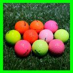 볼빅 2-4피스 컬러혼합 로스트볼 특A+급 10알