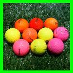 볼빅 2-4피스 컬러혼합 로스트볼 실속형 10알