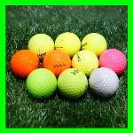 볼빅 2-4피스 컬러혼합 로스트볼 A급 10알