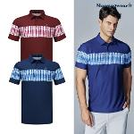[20SS]남성 타이 프린팅 냉감 반팔 티셔츠 (M0221MTS62)