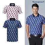 [먼싱웨어] [20SS]먼싱 남성 냉감 프린트 반팔 티셔츠 (M0221MTS61)