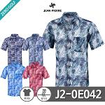 [JEAN PIERRE] 쟌피엘 하와이안 반팔셔츠 Model No_J2-0E042