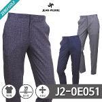 [JEAN PIERRE] 쟌피엘 잔패턴 스판 숨김밴딩 팬츠 Model No_J2-0E051