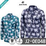 [JEAN PIERRE] 쟌피엘 하와이안 야자수 긴팔 셔츠 Model No_J2-0E048