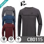 [ROBERTO] 로베르토 프린팅 냉감 긴팔 라운드 티셔츠 Model No_CB0115