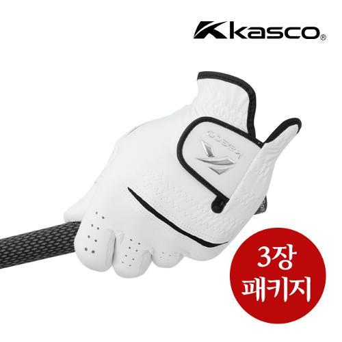 [카스코] KASCO 남성 프리미엄 합피장갑 3장 패키지