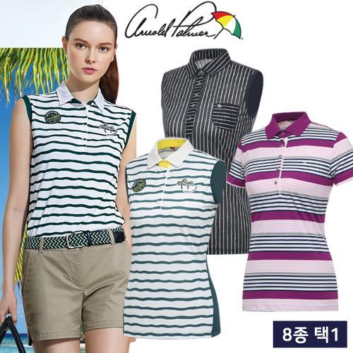 균일 [아놀드파마] 한여름 COOL 여성 민소매/반팔 티셔츠 균일가 8종 택1/골프웨어_