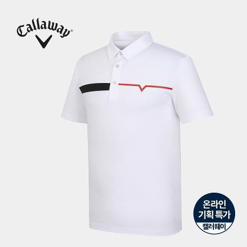 [캘러웨이]기획 남성 카라 반팔 티셔츠 CMTYJ2661-100_G