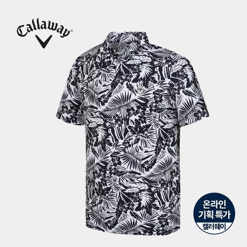 [캘러웨이]기획 남성 하와이안 카라 반팔 티셔츠 CMTYJ2674-925_G