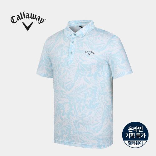 [캘러웨이]기획 남성 하와이안 카라 반팔 티셔츠 CMTYJ2674-920_G