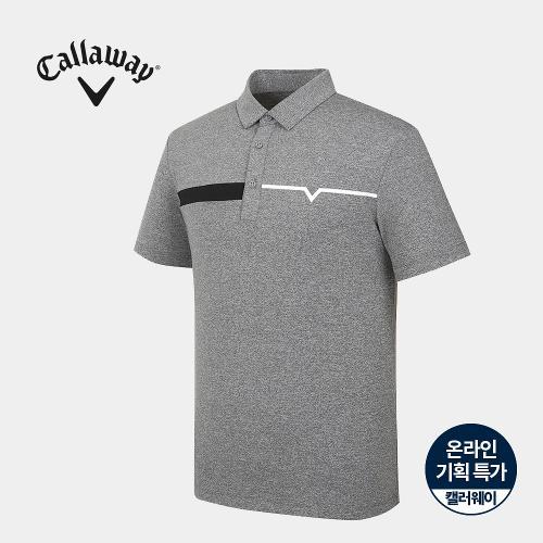 [캘러웨이]기획 남성 카라 반팔 티셔츠 CMTYJ2661-195_G