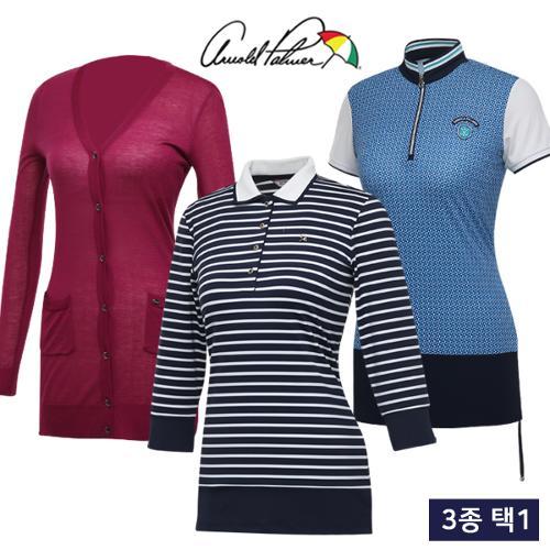 [아놀드파마] 여름 데일리추천 여성 티셔츠/메쉬 가디건 3종 택1/골프웨어_251364