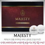 마제스티 정품 프리미엄 4피스 골프공[12알/1더즌]