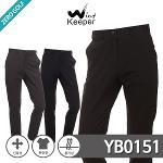 [WIND KEEPER] 윈드키퍼 숨김밴딩 스판 무지 골프바지 Model No_YB0151