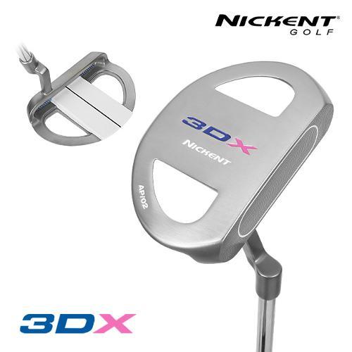 니켄트코리아 정품 3DX PIPE 파이프 말렛 퍼터_GC