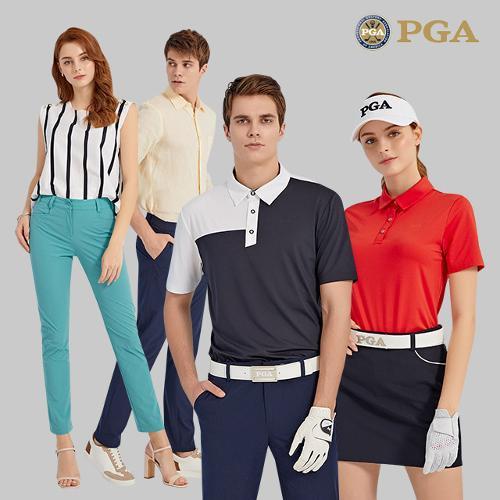 [PGA] 20년 S/S 남/여 올라운딩 풀셋업 4종세트 택1(재킷1+티셔츠2+팬츠1)
