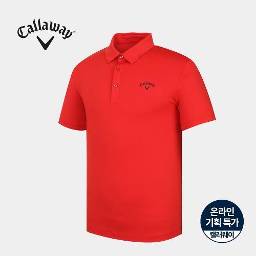 [캘러웨이]기획 남성 베이직 카라 반팔 티셔츠 CMTYJ2667-500_G