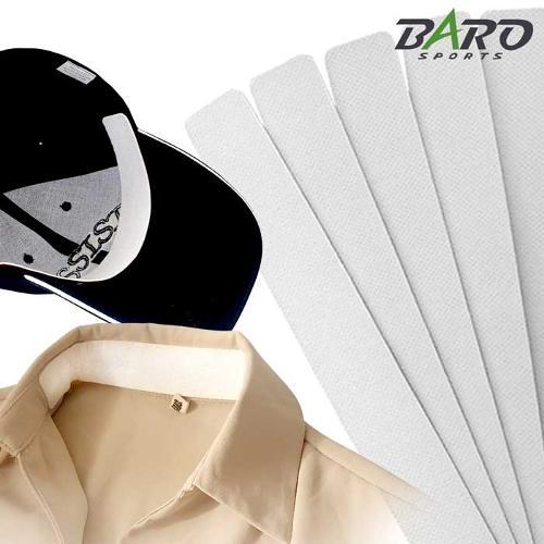 바로스포츠 멀티 땀흡수패드 5매 모자 셔츠 패치 천연향균 대나무섬유