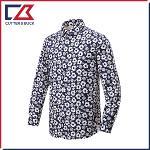 커터앤벅 남성 플라워 패턴 셔츠 - PB-12-201-108-51