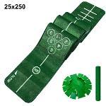 제이빅-피스탑 골프 퍼팅매트/골프연습용품/볼궤적표시25x250