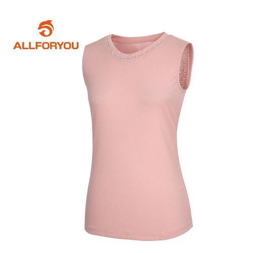[올포유]여성 넥장식 민소매 티셔츠_AWQTI6194-403_G
