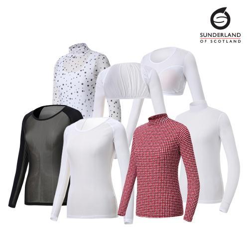 선덜랜드 여성 스판 기능성 냉감티셔츠 7종 택1