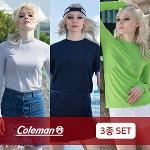 ★3종세트 [콜맨] 핫썸머 냉감 스판 여성 이너 티셔츠 3장 세트구성/골프웨어_251442