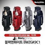 블랙앤화이트 BWZGK9C1 여성 바퀴형 캐디백[4컬러]