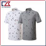 커터앤벅 남성 프린트 반팔 티셔츠- PB-11-202-101-23