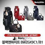 블랙앤화이트 BWZGK9C1/B1 여성 바퀴형 캐디백세트