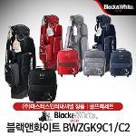 블랙앤화이트 BWZGK9C1/C2 여성 바퀴형 캐디백세트