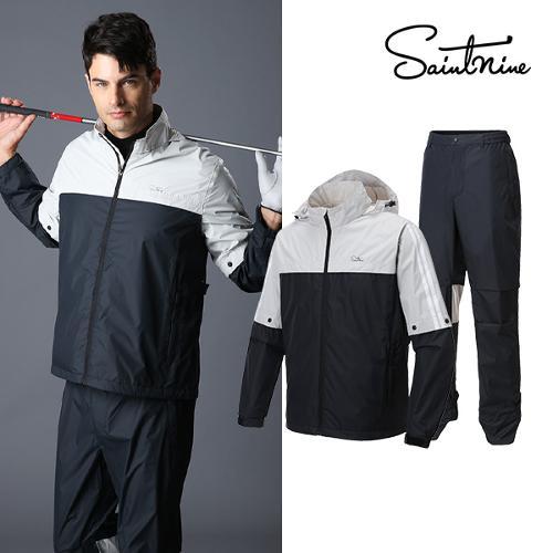 세인트나인 남성 배색 비옷세트 - 4602-111-660