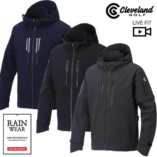 [클리브랜드골프] 파워스트레치 남성 비옷자켓/골프바람막이/골프웨어_CGKMRJ901