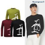 [먼싱웨어] [20FW] 남성 빅로고 라운드 홑겹 스웨터 (M0321MSW93)