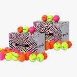 [1+1] 휴베스 무광 컬러볼 2박스 총 60알(5더즌 수량)