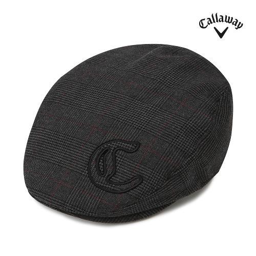 [캘러웨이] 여성 체크 헌팅캡 모자 CWACG7807-195_G