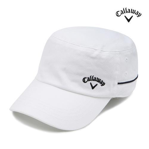 [캘러웨이] 여성 코튼 배색 군모 모자 CWACG7801-100_G