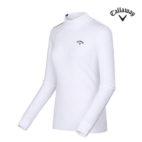[캘러웨이]여성 라인 터틀넥 이너 티셔츠 CWSHF7241-100_G