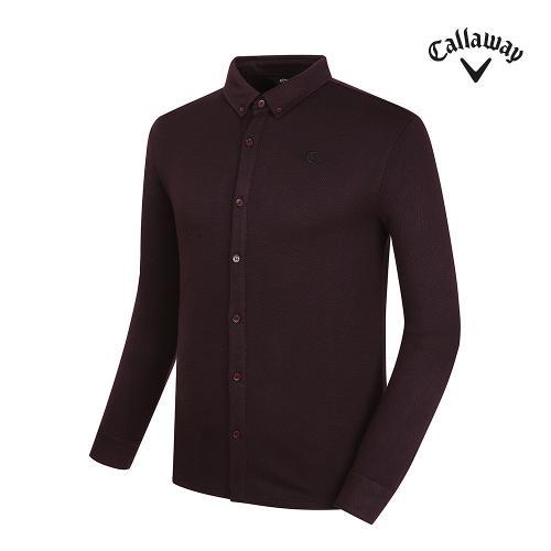 [캘러웨이] 남성 베이직 긴팔 티셔츠 CMTYG3172-420_G