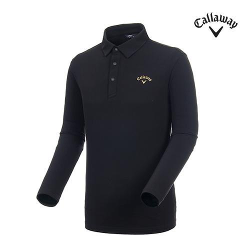 [캘러웨이]남성 솔리드 기모 긴팔 티셔츠 CMTYI3144-199_G